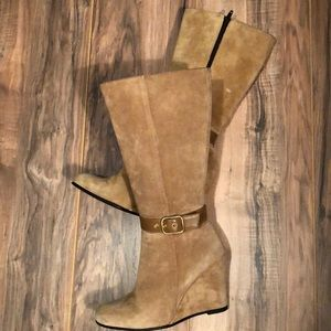 Coach Suede Boots 6B